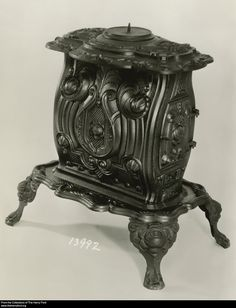 Newberry, Filley & Co. [Troy, NY] Magnolia Air-Tight Parlor Stove, 1854-1858
