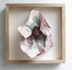 Gravura sujeira  xilogravura pigmento 38x38x8cm   2016  Herman Tacasey