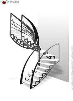 Escalier Design Contemporain