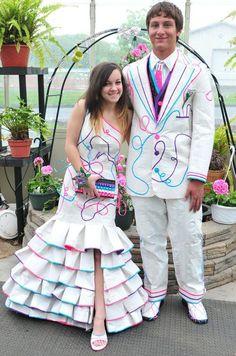 Duck tape prom