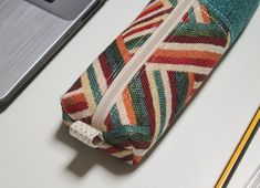 Fine Zipper Pencil case, Back To School, Pencil Pouch #case #pencilcase #zipper #pencil #School #Pouch #beautifull #boxy Zipper Pencil Case, Pencil Pouch, Zipper Pouch, Back To School, Crafts, Etsy, Manualidades, Entering School, Handmade Crafts