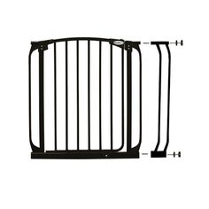 Bindaboo Pet Gates - 3.5 Gate extension, black >>> For more information, visit now : Dog gates Baby Gate For Stairs, Stair Gate, Door Gate, Gate 2, Large Dog Crate, Large Dogs, Metal Baby Gate, Best Baby Gates, Child Safety Gates