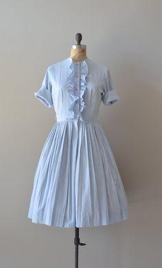 vintage 50s dress / 1950s shirtwaist dress / County by DearGolden, $68.00