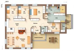 Sims, House Plans, Sweet Home, Floor Plans, Layout, Flooring, How To Plan, Building, Houses