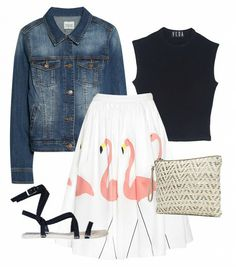 Be the sartorial envy of post-pool afternoon cocktail hour in this ladylike look. // #summer #style
