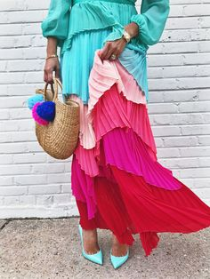 The Only Dress You Need for Spring - Rainbow Parrot Dress - Red Soles and Red Wine Red Sole, Parrot, Street Style, Treasure Island, Style Inspiration, Instagram, Spring, Sassy, How To Wear