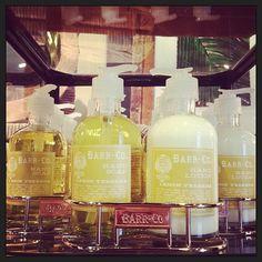BarrCo Duo... Lemon Verbena! Hand Soap + Lotion.