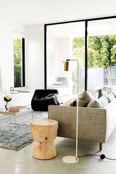 9 creative living rooms to inspire your own home renovation. Photography by Prue Ruscoe. Styling by Joseph Gardner.From the Inside Out Renovation Handbook.  Available from newsagents and https://magsonline.com.au/shopping-cart/added/1432866.