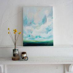 Emily Jeffords Studio / sky / painting / http://emilyjeffords.com/