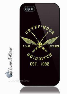Harry Potter Quidditch Gryffindor iPhone 5 Case