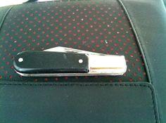 Vintage Barlow pocket knife by ABALONESCALESKNIVES on Etsy