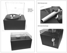 A brilliant new product, the Project Vinyl Record Cleaner VC-S is a wet cleaning machine that removes dirt and dust from your valuable records.