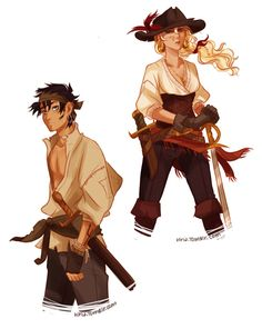 OMG!!!!!! They look AWESOME as pirates!! Go PERCABETH!!!!!!!