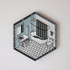 Bathroom Pin