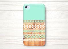iPhone 4 Case, iPhone 4 Cases, iPhone 4 Wrap Around Case - Aztec  Wood - 197