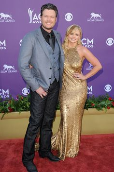 """Blake Shelton    Turned 36, June 18. The country music artist and Voice coach met wife Miranda Lambert at CMT's """"100 Greatest Duets"""" Concert in 2005."""