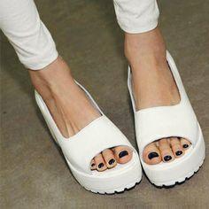 flip flops 2013 fashion spring and summer vintage shoes platform wedges sandals women's shoes US $24.46