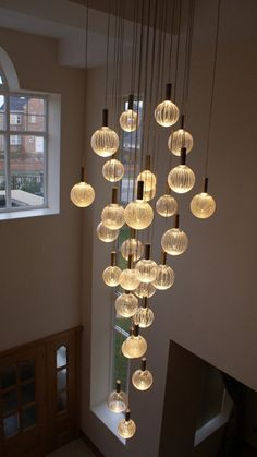 Modern foyer lighting glass chandeliers contemporary led chandeliers ac contemporary chandelier company love it for the Stairway Lighting, Foyer Lighting, Interior Lighting, Lighting Ideas, Outdoor Lighting, Kitchen Lighting Design, Modern Lighting Design, Ceiling Lighting, Modern Foyer