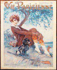 Maurice Millière (1871–1946). La Vie Parisienne, 28 Septembre 1929. [Pinned 12-vi-2016]
