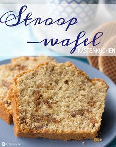 Kennt ihr holländische Stroopwafels? Ich liebe sie und habe einen Stroopwafel Kastenkuchen mit Zimt und brauem Zucker daraus gebacken! Leckerschmecker!