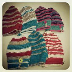 crochet beanies Crochet Beanie, Knitted Hats, Beanies, Scarfs, Hooks, Winter Hats, Leggings, Knitting, Fashion