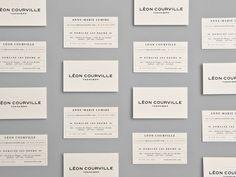 Léon Courville Vigneron stationery by lg2boutique.