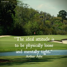 """""""Don't be afraid to give up the good to go for the great."""" John D. Rockefeller #Golf"""