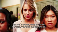 Definitely my favorite Quinn Fabray quote.