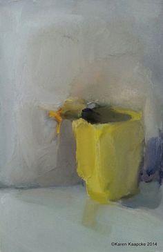 Still Life - Karen Kaapcke Be Still, Still Life, Arte Floral, Flower Images, Mail Art, Daffodils, Collage Art, Watercolor, Ink