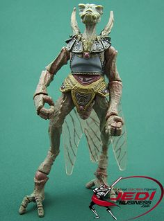 Star Wars Action Figure Sun Fac (Battle Of Geonosis), Star Wars The Saga Collection