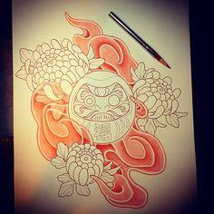 #japanesetattoo#tattoo#tattoosketch#sketch#horidon#irezumi#彫どん#タトゥー#泉州#岸和田#和泉市#下絵