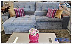 Sofás charmosos e confortáveis , ideal moveis e design , agora  em um único endereço Av. Republica Argentina, 3003 .