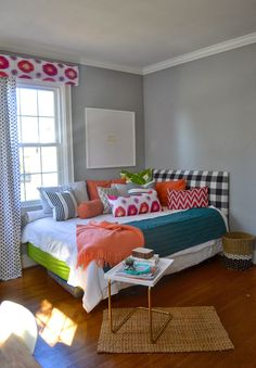 designPOST interiors: Blogger Stylin Home Tours: my favorite room in my house; awesome guest room/office