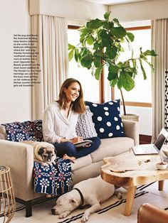 house and garden magazine  2016 images | Jessica Alba – Better Homes and Gardens Magazine February 2016 Issue