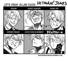 hitman jones hetalia