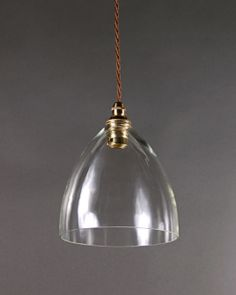 Upton clear glass pendant light clear glass pendant light glass ledbury glass pendant light aloadofball Image collections