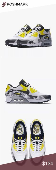 3d88228016730 Shop Women's Nike size Sneakers at a discounted price at Poshmark. WOMENS  NIKE AIR MAX 90 PRM DB Doernbecher Freestyle Oregon Duck SIZE Sold by ...
