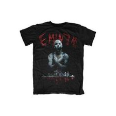 Eminem Bloody Horror Mens Tee - There's no escaping, there's no place to hide. This Eminem Bloody Horror Mens T-Shirt will keep them runnin' until 3am.