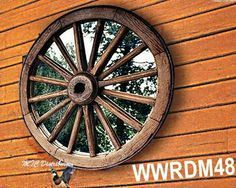 Large Rustic Gallery Wagon Wheel Wall Clock 33 Quot Cabin
