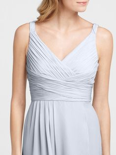 Simple Romantic V-neck Sleeveless Knee Length Bridesmaid Dress Under 100