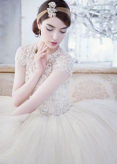 Lazarao Bridal Spring 2014   bellethemagazine.com