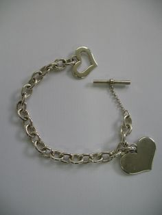 Bracciale catena rolo e cuore large in argento 925 By Celebrity Collection Rolo chain bracelet end large heart 925 silver By Celebrity Collection