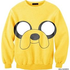 Sexy Sweaters. Adventure Time. Jake