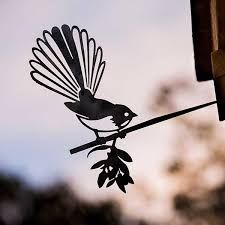 fantail nz - Google Search Green Zone, Corten Steel, Small Gardens, Stained Glass, Animals, Google Search, Wood, Make Your Own, Do Crafts