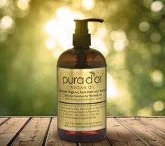 Pura D´or Oil prevents hair loss!