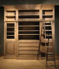 wandmeubelen, boekenkasten en bibliotheekkasten ook op maat