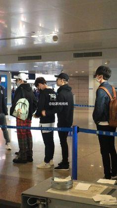 160329 Guangzhou Airport #Shinee #Taemin #Minho #2min