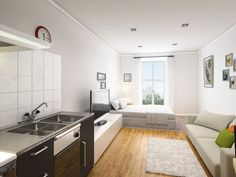 Stunning new studios in Liverpool City Centre in the Pembroke House development #investment #studentproperty