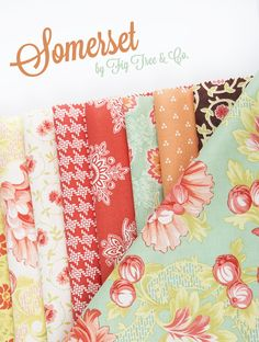 Somerset Collection by Fig Tree & Co - Fat Quarter Shop