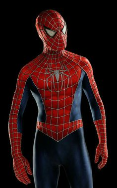 Designer Yuri Schuurkes has created an amazing Spider-Man costume based on the movie franchise, for which he used printing to get the mask just right. Spiderman Sam Raimi, Spiderman 2002, Spiderman Suits, Spiderman Movie, Amazing Spiderman, Original Spiderman Suit, Marvel Characters, Marvel Heroes, Spaider Man